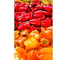 Bell Peppers anyone? Photographic Print
