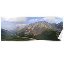 Panoramic Highwood Pass Poster