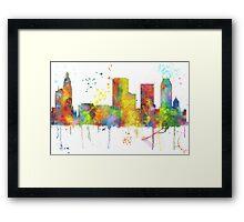 Tulsa, Oklahoma Skyline Framed Print