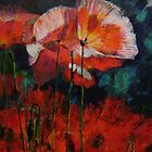 I Love Poppies - SOLD by Pauline Marlo-Monten