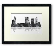 Tulsa, Oklahoma Skyline -  Framed Print