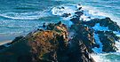 The Rocks Remain - Australian mainland's most easterly point by Odille Esmonde-Morgan