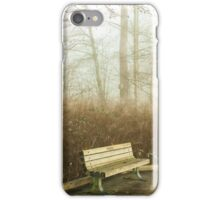 Waiting for Company iPhone Case/Skin