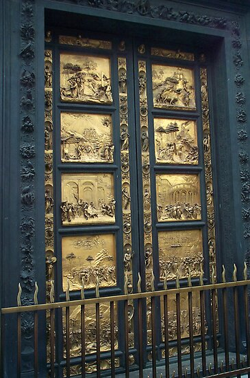 The Gates of Paradise ~ Florence Baptistery by Lucinda Walter