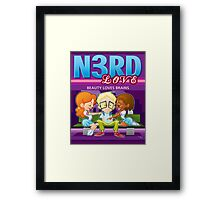 Nerd Love Framed Print