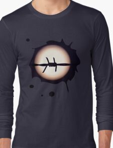 Barbed Moon Long Sleeve T-Shirt