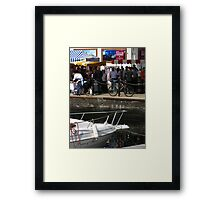 'Prince of Thieves', Ipswich Waterfront Framed Print