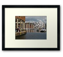 'Browsing', Ipswich Waterfront Framed Print