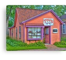 Toy Shop Canvas Print