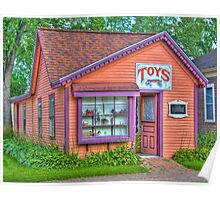 Toy Shop Poster