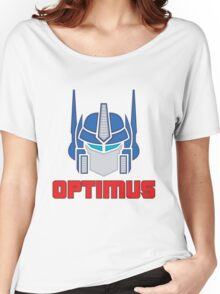 Optimus Prime Logo Women's Relaxed Fit T-Shirt
