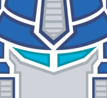 Optimus Prime Logo Sticker