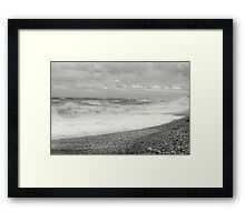 Land,Sea and Sky.. Framed Print