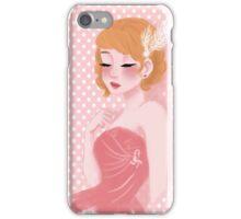 Pink 1950's Fashion iPhone Case/Skin