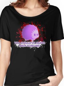 """SCREAMS"" SHIRT (BLOOD) Women's Relaxed Fit T-Shirt"