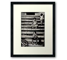 Mischief Framed Print
