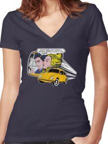 Volkswagen Tee Shirt - Got a Bug! Women's Fitted V-Neck T-Shirt