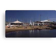 Sandringham Yacht Club - Victoria- Australia Canvas Print