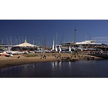 Sandringham Yacht Club - Victoria- Australia Photographic Print