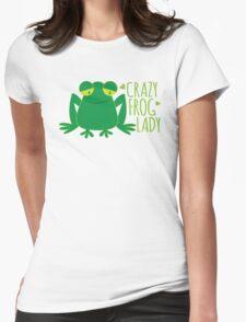 Crazy Frog Lady T-Shirt