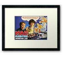 MAD SCIENTIST - MONSTER LAB  Framed Print