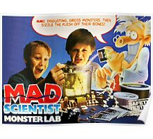 MAD SCIENTIST - MONSTER LAB  Poster