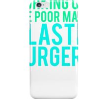 Working Out The Poor Man's Plastic Surgery iPhone Case/Skin