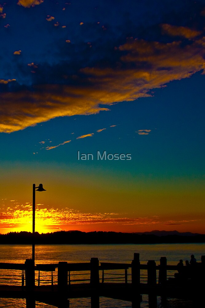 A sunset of a difference by Ian Moses