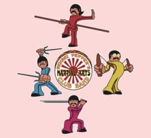 Sensei Pepper's Martial Arts Club Band Kids Clothes