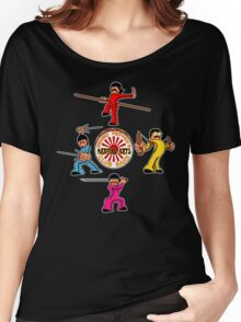 Sensei Pepper's Martial Arts Club Band Women's Relaxed Fit T-Shirt