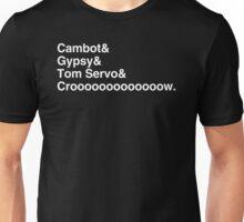 Robot Roll Call Unisex T-Shirt