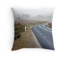 Road from Queenstown - Tasmania, Australia Throw Pillow
