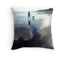 SingChang, Beach Throw Pillow