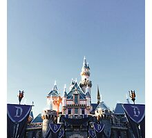 Disneyland 60th Photographic Print