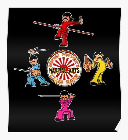 Sensei Pepper's Martial Arts Club Band Poster