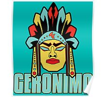 Geronimo - Legendary Warriors Series Poster