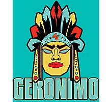 Geronimo - Legendary Warriors Series Photographic Print