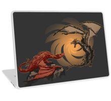 Alduin vs. smaug Laptop Skin