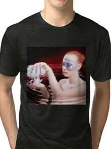 Girl In the water Tri-blend T-Shirt