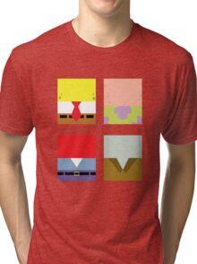Minimal Spongebob Tri-blend T-Shirt