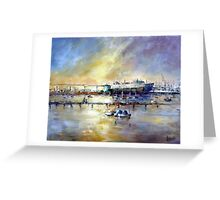 Passing by (Williamstown Victoria-Aaustralia) Greeting Card
