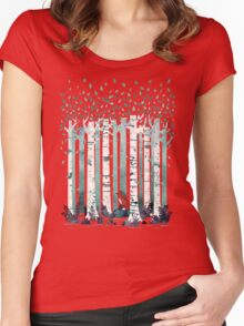 The Birches Women's Fitted Scoop T-Shirt