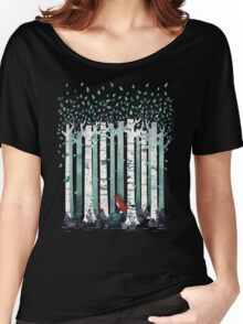 The Birches Women's Relaxed Fit T-Shirt