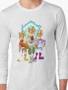 Fox Victory Pose Long Sleeve T-Shirt