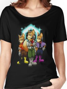 Fox Victory Pose Women's Relaxed Fit T-Shirt