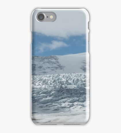 Athabasca Glacier panorama iPhone Case/Skin