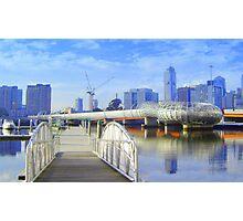 Pier 5 Docklands - Melbourne - Victoria - Australia Photographic Print