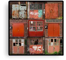 Doors of Zeche Zoolverein Canvas Print