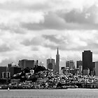San Francisco, the skyline by kraftseins