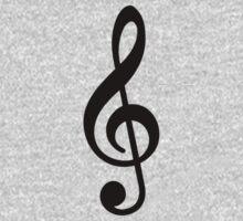 Music Note Baby Tee